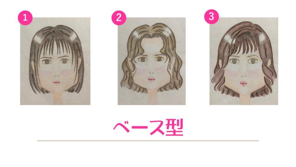 顔型診断 ベース型 ボブ