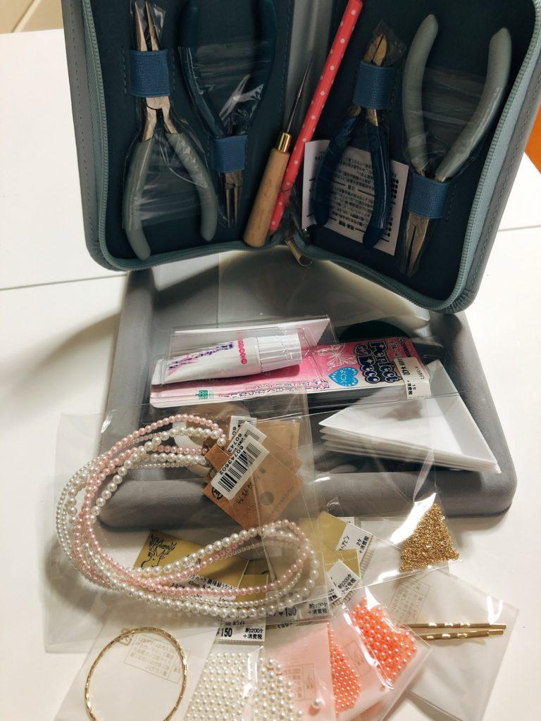 ヘアアクセサリー工具